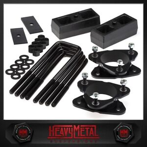 3 Front 3 Rear Lift Kit W Alignment Shims 2007 2018 Gmc Sierra 1500