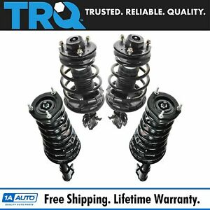 Trq Loaded Complete Strut Spring Assembly Front Rear Set 4pc For Camry 2 2l