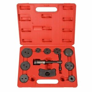 Tuniversal 12 Pcs Disc Brake Piston Caliper Rewind Back Tool Kit Automotive Tool