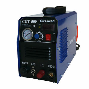Richmond Cut50f Pilot Arc Plasma Cutter 220v 50a With 18 Bonus Consumables