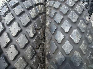Two 12 4x28 8 Ply R3 John Deere T l Farm Tractor Turf Tires