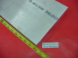 1 x 8 x 32 Aluminum 6061 Flat Bar T6511 Solid 1 000 New Plate Mill Stock
