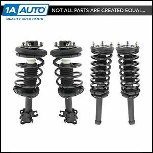 Shock Strut Spring Front Rear Set Of 4 For Nissan Maxima Infiniti I30 New