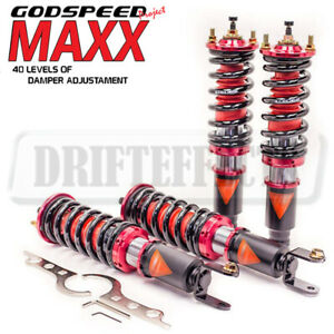 For Acura Integra Dc Db 1994 01 Godspeed Maxx Damper Coilovers Strut Shock Kit
