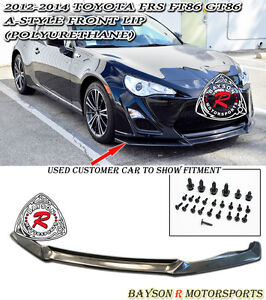 A style Front Lip urethane Fits 12 16 Scion Fr s