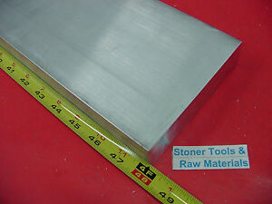 1 X 6 Aluminum 6061 Flat Bar 48 Long T6511 Solid Extruded Plate Mill Stock