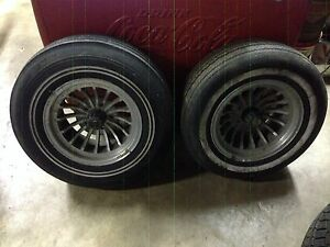 2 Original Shelby Wheels 14x7 Ford Mustang Torino Falcon Cougar
