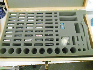 36 Assorted 25mm Laboratory Optical Filters Mounted In Holders inserts In Case