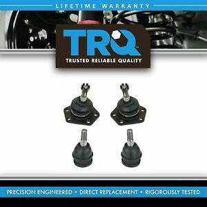 Ball Joints Front Upper Lower Kit Set Of 4 For Chevy Gmc Truck Van