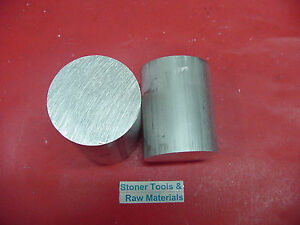 2 Pieces 3 Aluminum 6061 Round Rod 3 Long T6511 Solid Extruded Lathe Bar Stock