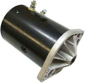 New Western Snow Plow Motor Lift Pump W ground Post