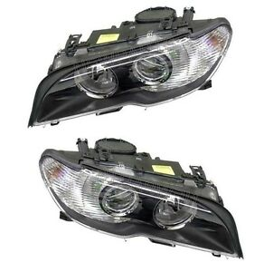 For Bmw E46 330ci 325ci Set Of Right Left Halogen Headlights Assembly Oem
