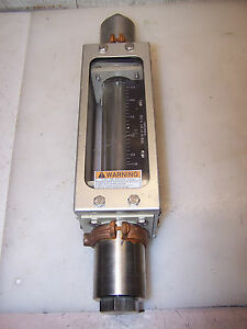 Brooks Nitrogen Flow Meter Site Glass Stainless Steel 1110dk12cmdaa
