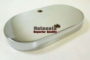 Master Cylinder Cover Top Smooth Gm Chrome Aluminum Chevy Pontiac Buick Hot Rod