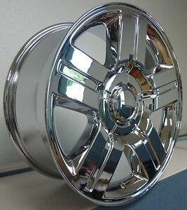 26 Inch Texas Chrome Wheels Rims Tires Fit 26 X 10 Silverado Escalade Tahoe