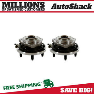 2 Front Wheel Hubs Bearings Assembly For 2005 2008 2009 2010 Jeep Grand Cherokee
