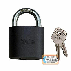 Quality Yale 714 Cylinder Padlock Shed Garage Locker Home Security Lock