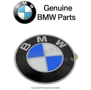 For Bmw Wheel Center Cap Emblem Insignia Badge 64 5mm Genuine 36 13 6 767 550