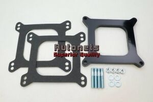 1 2 0 5 Open Phenolic Carburetor Spacer Fits Holley Chevy 4bbl Sbc Bbc Carb