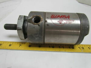 Bimba 701 d Double Acting Air Cylinder 3 Bore X 1 Stroke