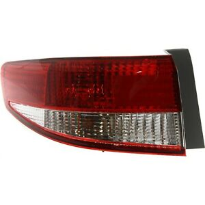 Tail Light For 2003 2004 Honda Accord Lh Outer Sedan
