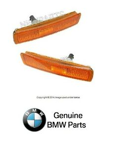 For Bmw E36 Z3 Mcoupe Original Equipment Front Bumper Side Marker Light Set L r