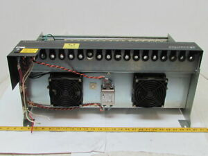 Reliance Electric 803456 8ra J2 3008 4 57c331a 16 Slot Rack Automax Plc Chassis