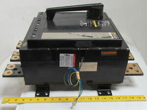 Square D 3 pole Thermal Magnetic Circuit Breaker 2000a Frame 600vac 1800a Trip