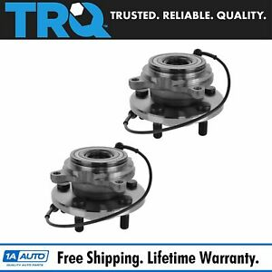 Wheel Bearing Hub Rear Pair Set Of 2 For Land Rover Discovery Series Ii
