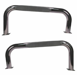 Jeep Cj7 76 86 Nerf Bars Stainless Pair X 11522 03