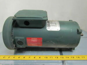 Reliance Electric T56s1007a 1 2hp 1750rpm 180vdc Xl Extended Life Motor Tefc 56c