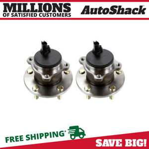 Rear Pair 2 Wheel Hub Bearing Assembly Fits 2004 12 Mazda 3 06 10 2012 Mazda 5