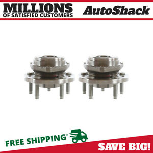 Pair Of 2 New Front Wheel Hub Bearing Assembly Fits 99 03 Ford Windstar