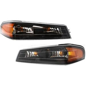 Side Marker Parking Turn Signal Corner Lights Pair Set For 04 12 Colorado Canyon