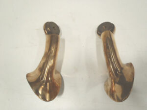 32 Ford Roadster Lower Windshield Windscreen Stanchion Set Cast Bronze 1932