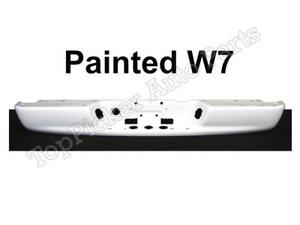 Painted Bright White W7 Rear Bumper Bar For 02 08 Dodge Ram 03 09 Ram 2500 3500