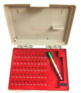 Pro series 50 Piece 011 060 Pin Gage Set With Certificate 4101 0040