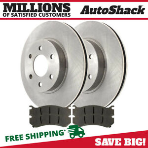 Front Rotors And Metallic Pads For 1999 2006 Chevrolet Silverado Gmc Sierra 1500