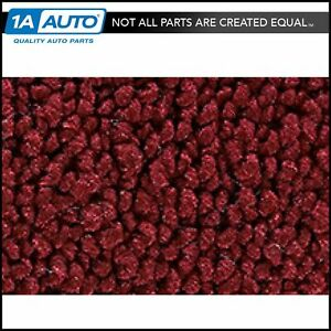 68 72 Chevy Chevelle 2 Door Bench Seat W o Console Carpet 13 Maroon For Manual