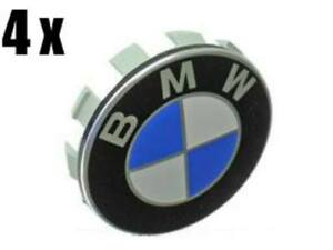 Bmw E36 E38 E39 E46 E53 E60 Wheel Center Caps X4 Hub Emblem Roundel Cover