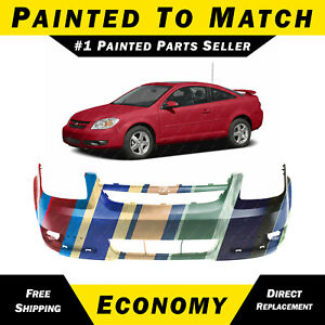 New Painted To Match Front Bumper Cover For 2005 2010 Chevy Cobalt Ls Lt W Fog