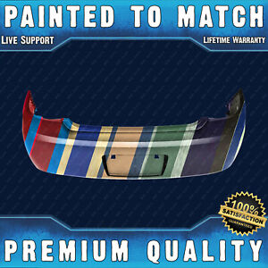 New Painted To Match Rear Bumper Cover For 2005 2010 Chevy Cobalt Sedan 12336076