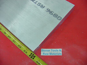 2 X 8 Aluminum 6061 Flat Bar 24 Long Solid T6511 2 00 Plate Mill Stock