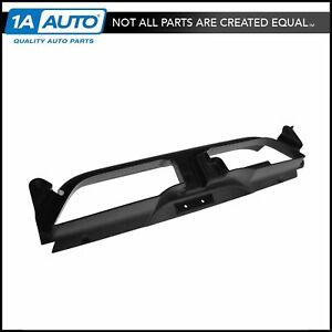 Ford Radiator Grille Opening Cover Black For Ford Mustang Gt Mach 1