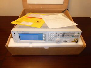 Agilent Hp N5181a 100khz 3ghz Rf Signal Generator Loaded Calibrated