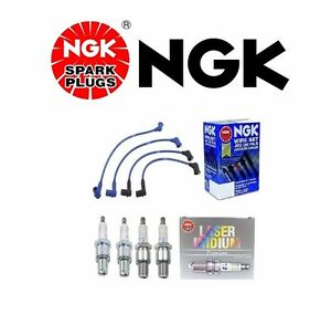 For Ngk High Perf Wire Set 4 ngk Iridium Spark Plugs For Mazda Rx 8 2004 2007