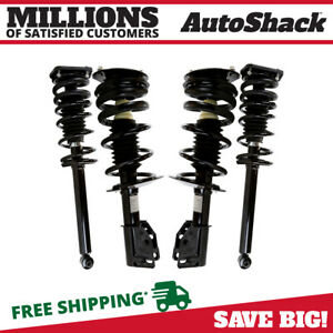 Front And Rear Complete Strut For 1999 2005 Chevrolet Cavalier Pontiac Sunfire