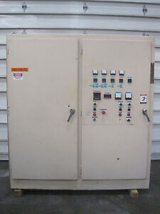 5 Zone Extruder Temperature Control Panel With 75 Hp Dc Drive