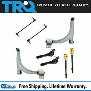 Tie Rod Sway Bar Link Control Arm Front Set Of 8 For Chevy Pontiac Saturn