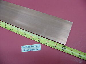 1 4 x 3 C110 Copper Bar 36 Long Solid Flat Bar 250 x 3 00 Bus Bar Stock H04